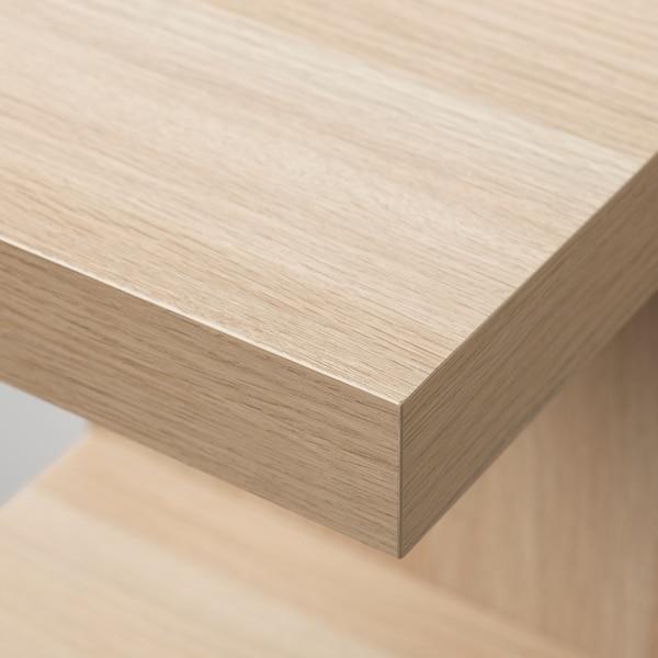 Lack Wall Shelf Unit White Stained Oak Effect Ikea