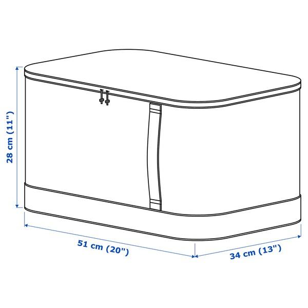 "LACKISAR Storage case, 13x20x11 """