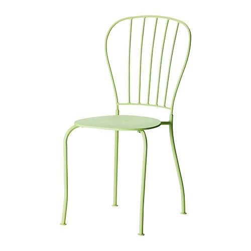 """LÄCKÖ Chair light green Width: 16 1/2 """" Depth: 20 1/2 """" Height: 34 1/4 """" Seat width: 14 5/8 """" Seat depth: 15 """" Seat height: 17 3/8 """"  Width: 42 cm Depth: 52 cm Height: 87 cm Seat width: 37 cm Seat depth: 38 cm Seat height: 44 cm"""