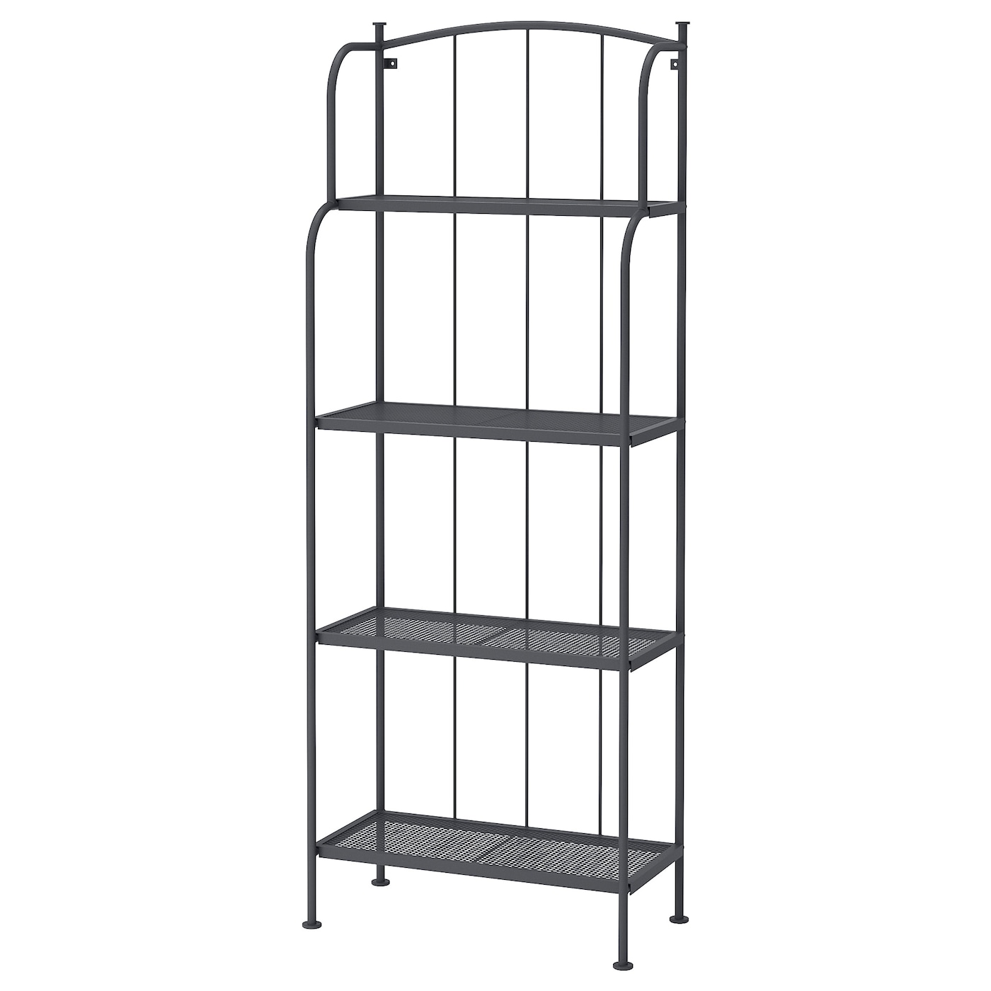 Magnificent Lacko Shelving Unit Outdoor Gray Download Free Architecture Designs Scobabritishbridgeorg