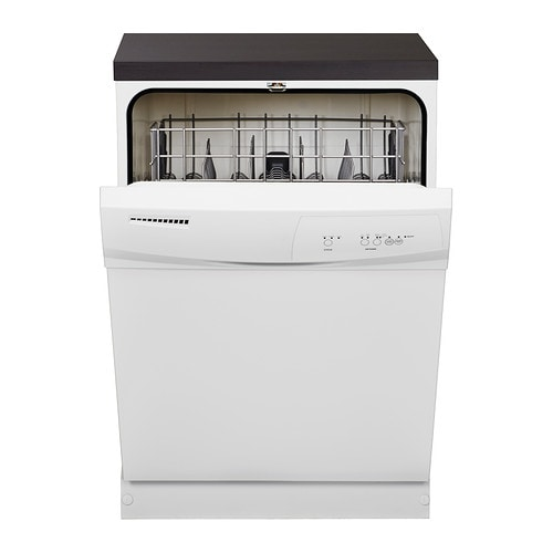 LAGAN Built-in dishwasher IKEA Dishwasher with tall interior holds a larger amount of dishes and allows you to make maximum use of dish space.