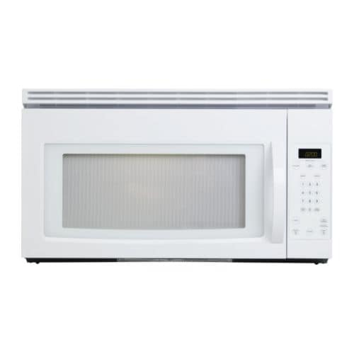 LAGAN Microwave oven with extractor fan IKEA Combination of microwave oven and extractor fan for installation in a wall cabinet.
