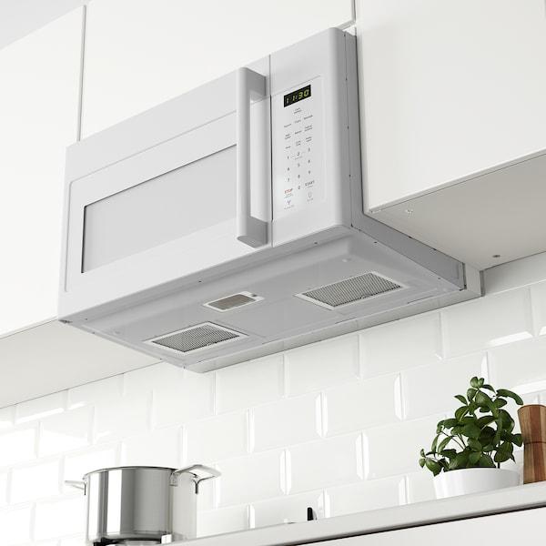 LAGAN Over the range microwave, white