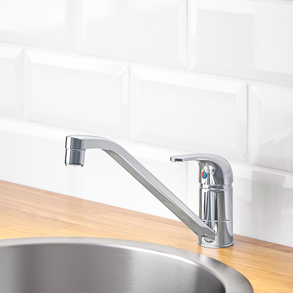 LAGAN Single lever kitchen faucet, chrome plated