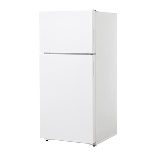 LAGAN Top freezer, white