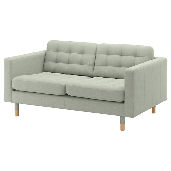 Fabulous Loveseat Landskrona Gunnared Light Green Wood Inzonedesignstudio Interior Chair Design Inzonedesignstudiocom