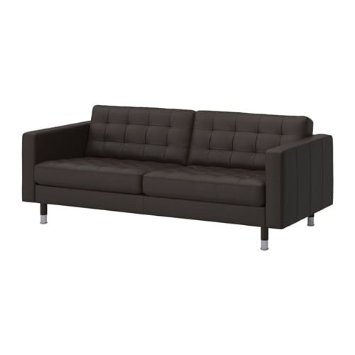 landskrona sofa grann bomstad dark brown metal ikea. Black Bedroom Furniture Sets. Home Design Ideas