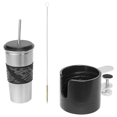 LÅNESPELARE Mug and mug holder
