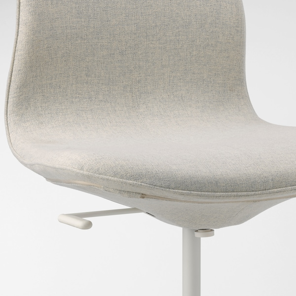 "LÅNGFJÄLL conference chair Gunnared beige/white 243 lb 26 3/8 "" 26 3/8 "" 36 1/4 "" 20 7/8 "" 16 1/8 "" 16 7/8 "" 20 7/8 """