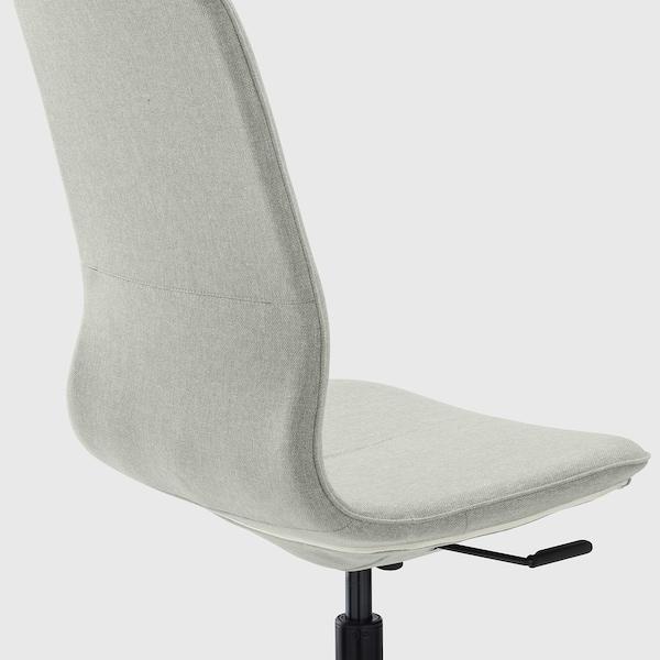 LÅNGFJÄLL Office chair, Gunnared light green/black