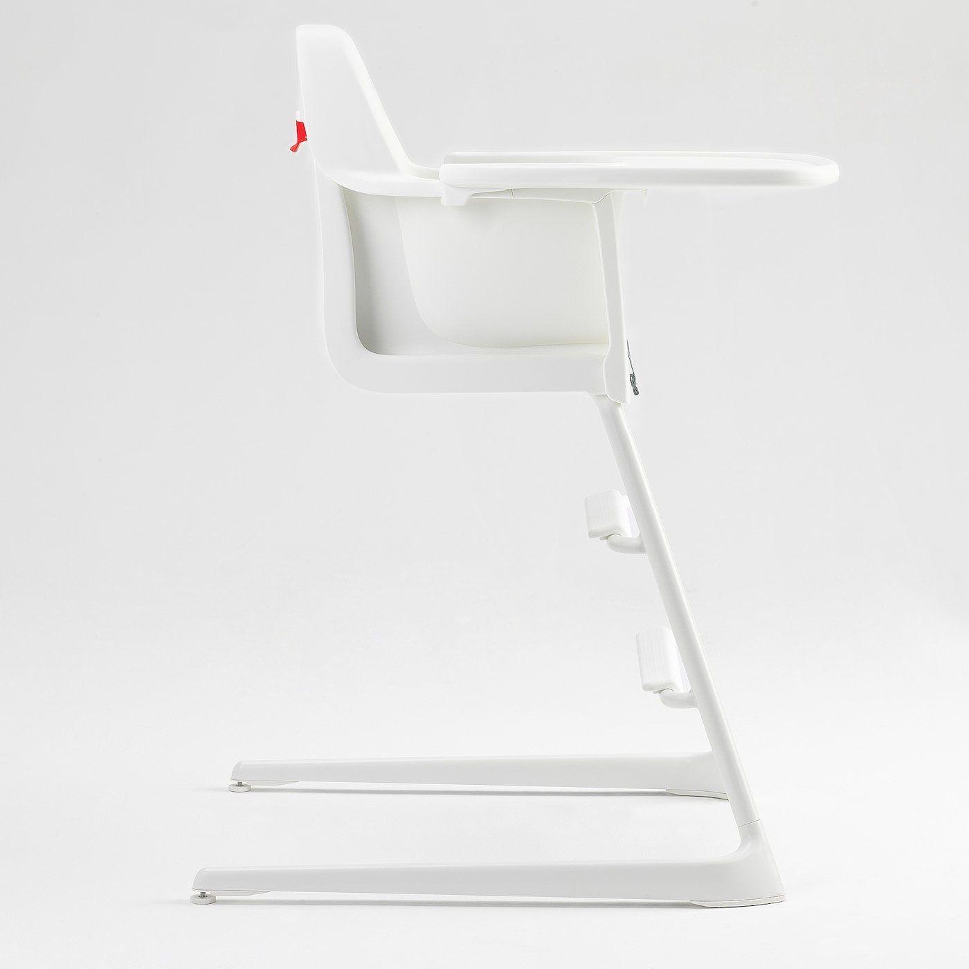 "LANGUR high chair with tray white 22 "" 24 "" 34 1/4 "" 8 5/8 "" 8 1/4 "" 22 """