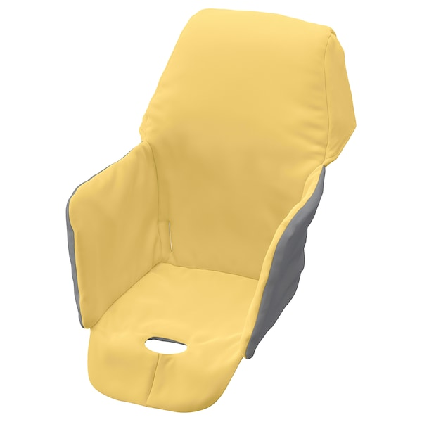 Miraculous Padded Seat Cover For High Chair Langur Yellow Short Links Chair Design For Home Short Linksinfo