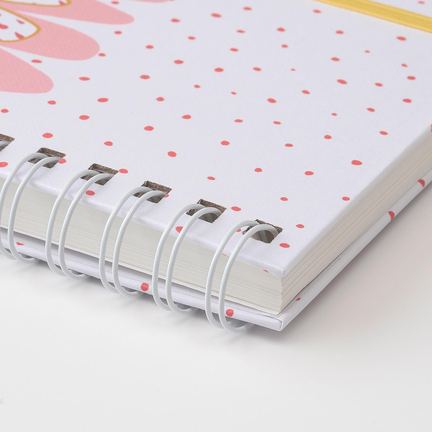"LANKMOJ notebook white/green pink 100 pieces 7 "" 5 "" 1 "" 0 oz/sq ft"