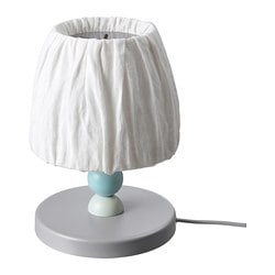 LANTLIG LED table lamp, gray