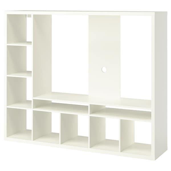 "LAPPLAND TV storage unit, white, 72x15 3/8x57 7/8 """