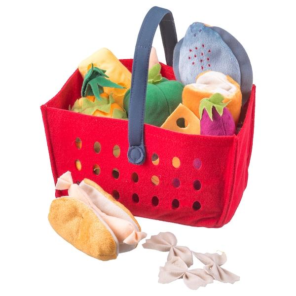 LÅTSAS 11-piece shopping basket set