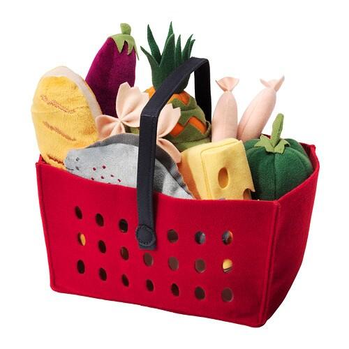 LÅTSAS 11-piece shopping basket set - -