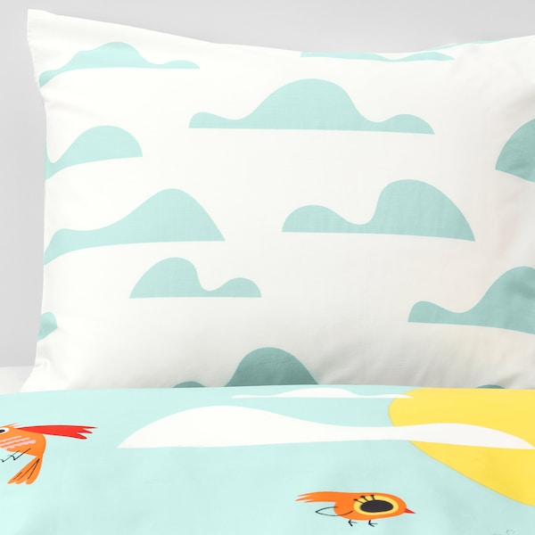 IKEA LATTJO Duvet cover and pillowcase(s)