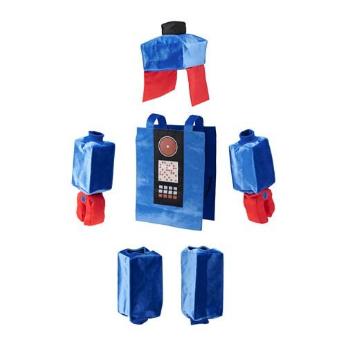 LATTJO Robot costume, blue