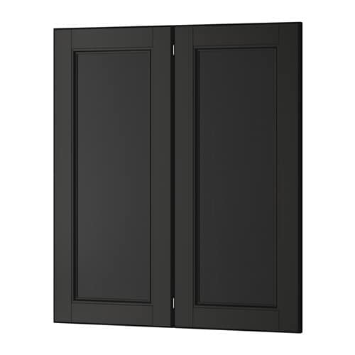 Ikea Kitchen Laxarby: LAXARBY 2-p Door/corner Base Cabinet Set