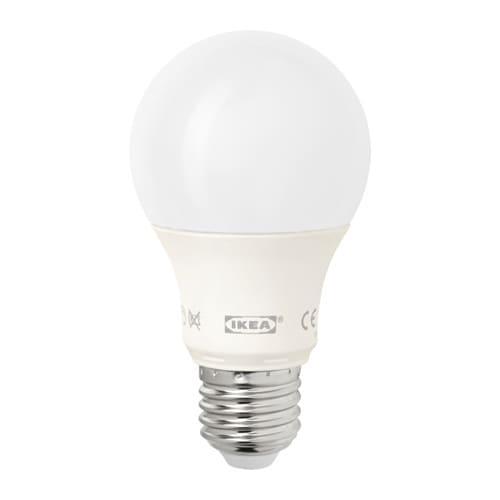 LEDARE LED bulb E26 600 lumen, dimmable, globe opal dimmable/globe opal -