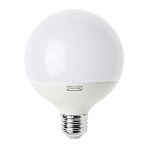 LEDARE LED bulb E26 1000 lumen, dimmable, globe opal dimmable/globe opal 4