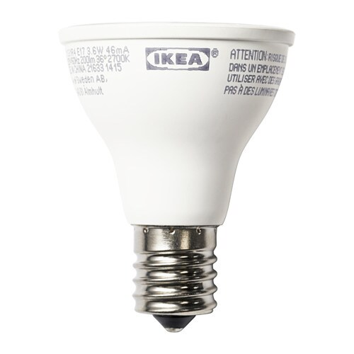 ledare led bulb e17 200 lumen ikea. Black Bedroom Furniture Sets. Home Design Ideas