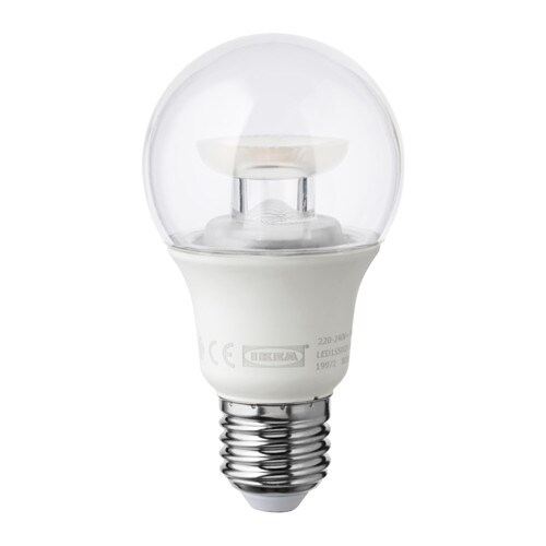ledare led bulb e26 600 lumen ikea. Black Bedroom Furniture Sets. Home Design Ideas