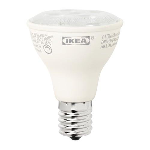 LEDARE LED bulb E17 reflector R14 400 lm, dimmable