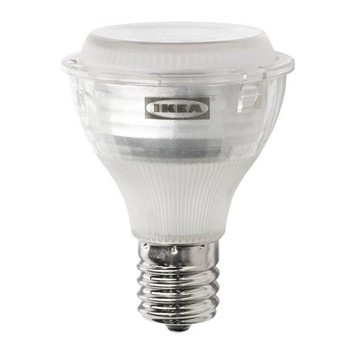 314aab7fa66 LEDARE LED bulb E17 reflector R14 400 lm - IKEA