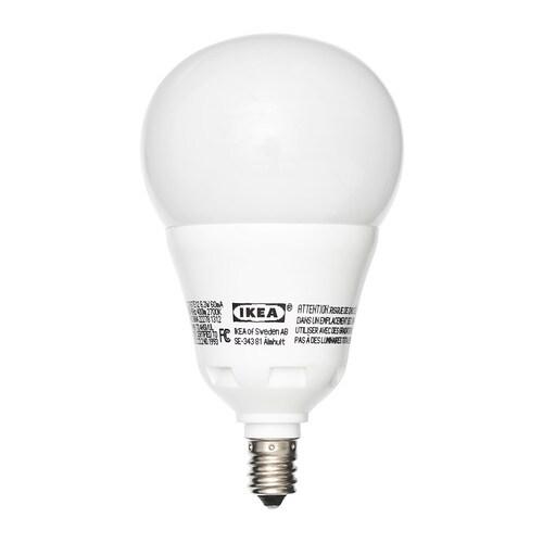 LEDARE LED bulb E12 - IKEA