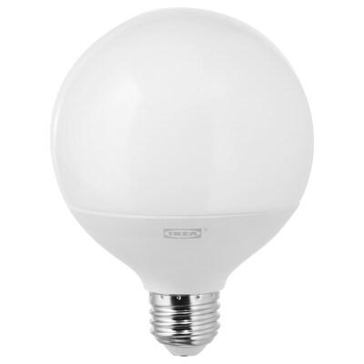 """LEDARE LED bulb E26 1000 lumen warm dimming/globe opal 2700 K 1000 Lumen 4 """" 11.0 W"""