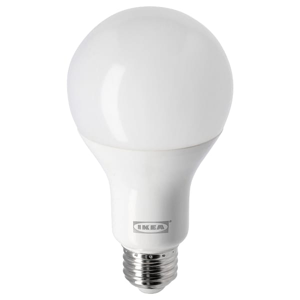 LEDARE LED bulb E26 1600 lumen, warm dimming/globe opal