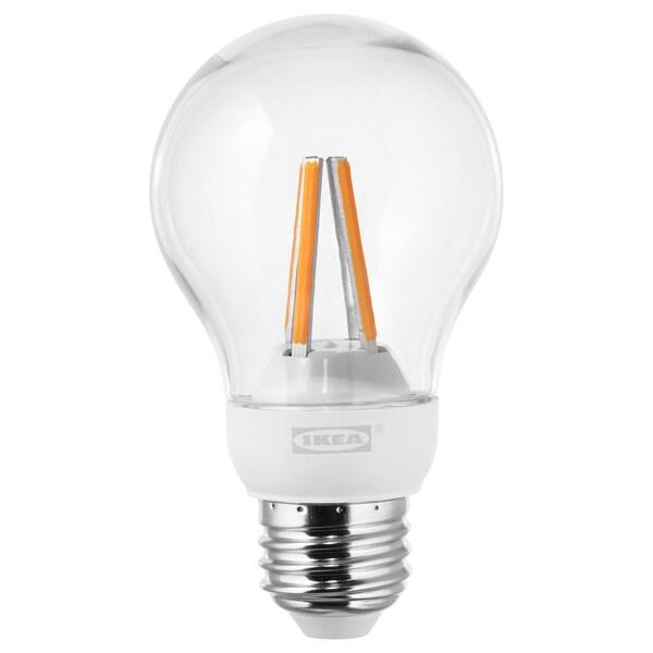 LEDARE LED bulb E26 600 lumen warm dimming/globe clear 2700 K 600 Lumen 7.0 W