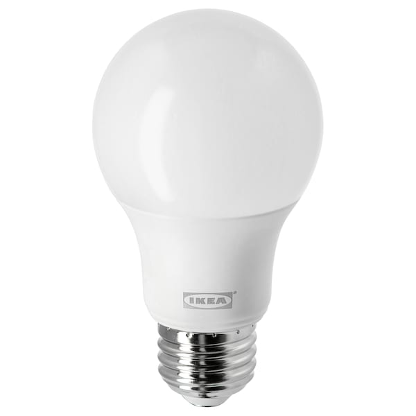 LEDARE LED bulb E26 800 lumen, warm dimming/globe opal