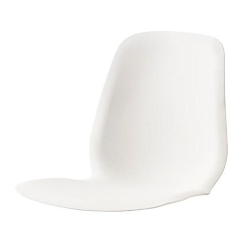LEIFARNE Seat shell, white