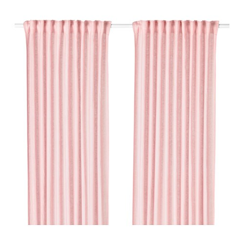LEJONGAP Curtains 1 Pair