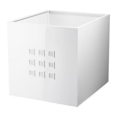 LEKMAN Box, white white 13x14 ½x13