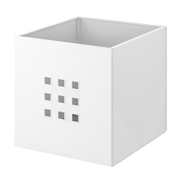 """LEKMAN Box, white, 13x14 ½x13 """""""