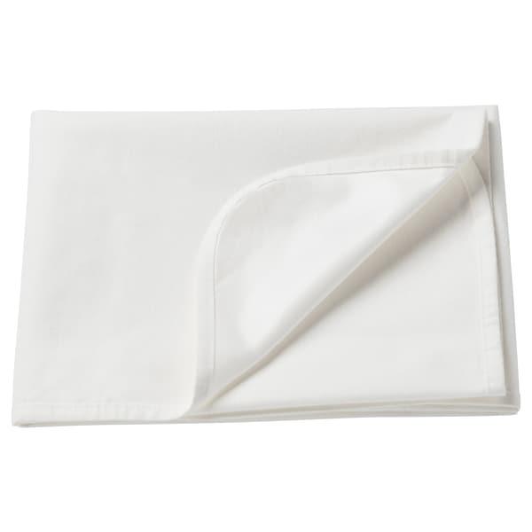 "LEN Mattress protector, white, 27 1/2x39 """