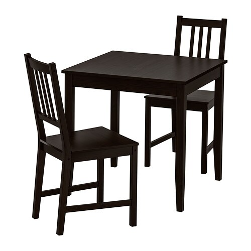 Lerhamn Stefan Table And 2 Chairs
