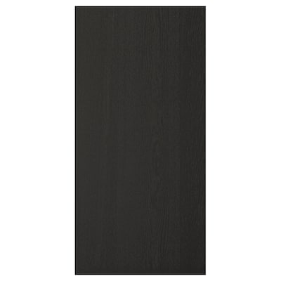 """LERHYTTAN cover panel black stained 15 1/2 """" 31 3/4 """" 1/2 """""""