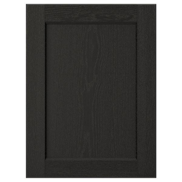 "LERHYTTAN Door, black stained, 15x20 """