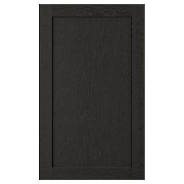 "LERHYTTAN Door, black stained, 18x30 """