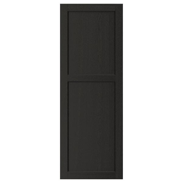 "LERHYTTAN Door, black stained, 18x50 """
