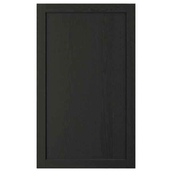 "LERHYTTAN Door, black stained, 24x40 """