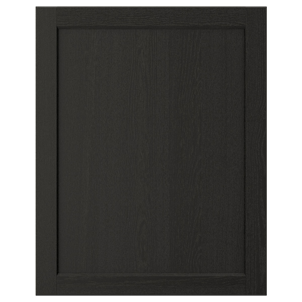 "LERHYTTAN Door, black stained, 24x30 """