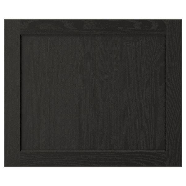 "LERHYTTAN Door, black stained, 24x20 """