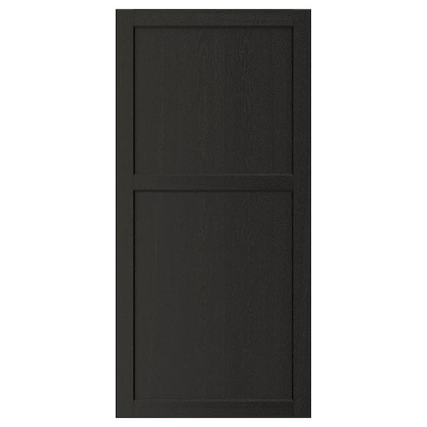 "LERHYTTAN Door, black stained, 24x50 """