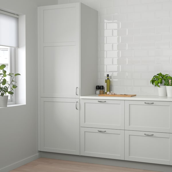 """LERHYTTAN Door, light gray, 15x20 """""""